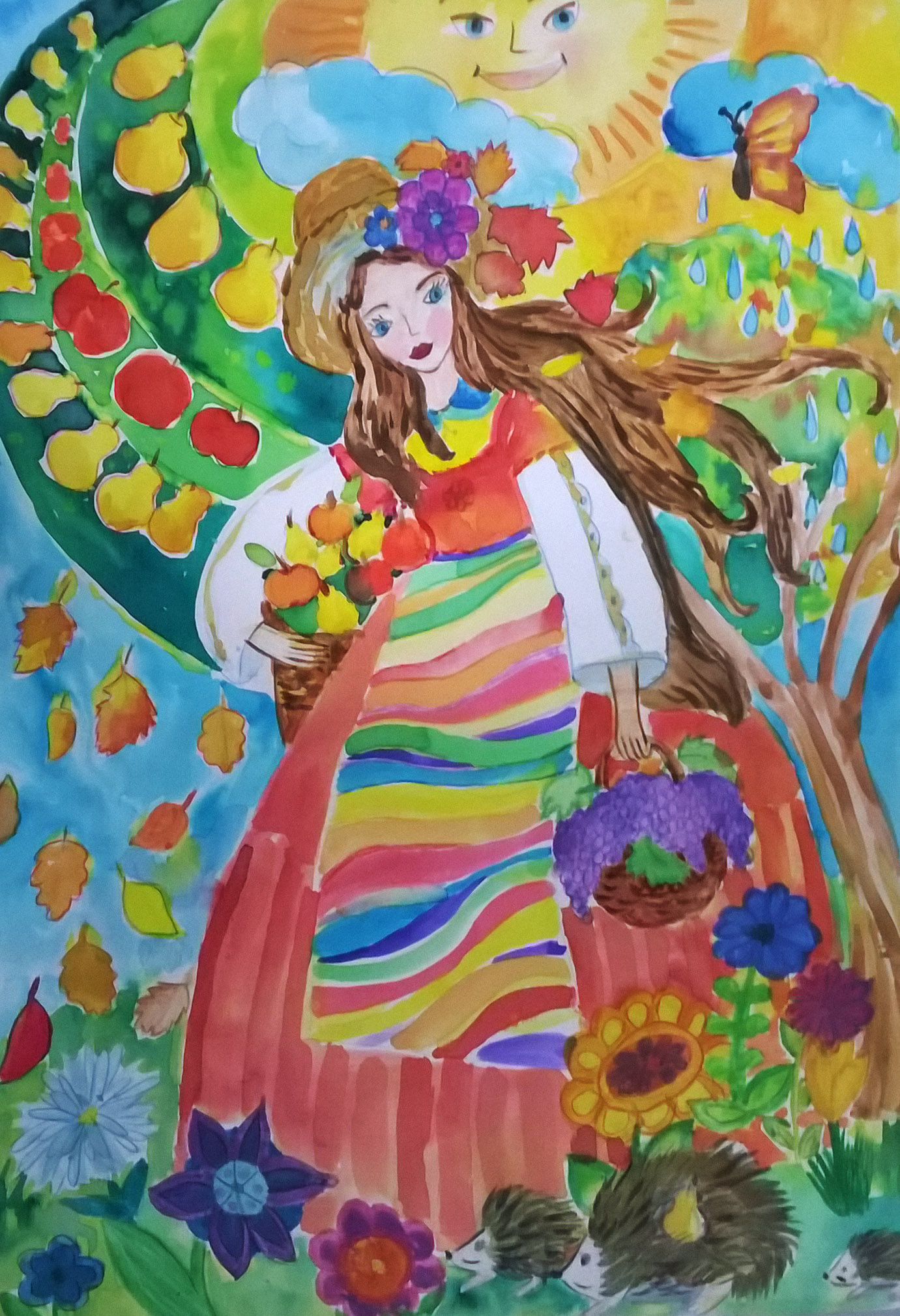 """Михаела Кочева от СОУ """"Вичо Грънчаров"""" с отличие от национален конкурс за рисунки"""