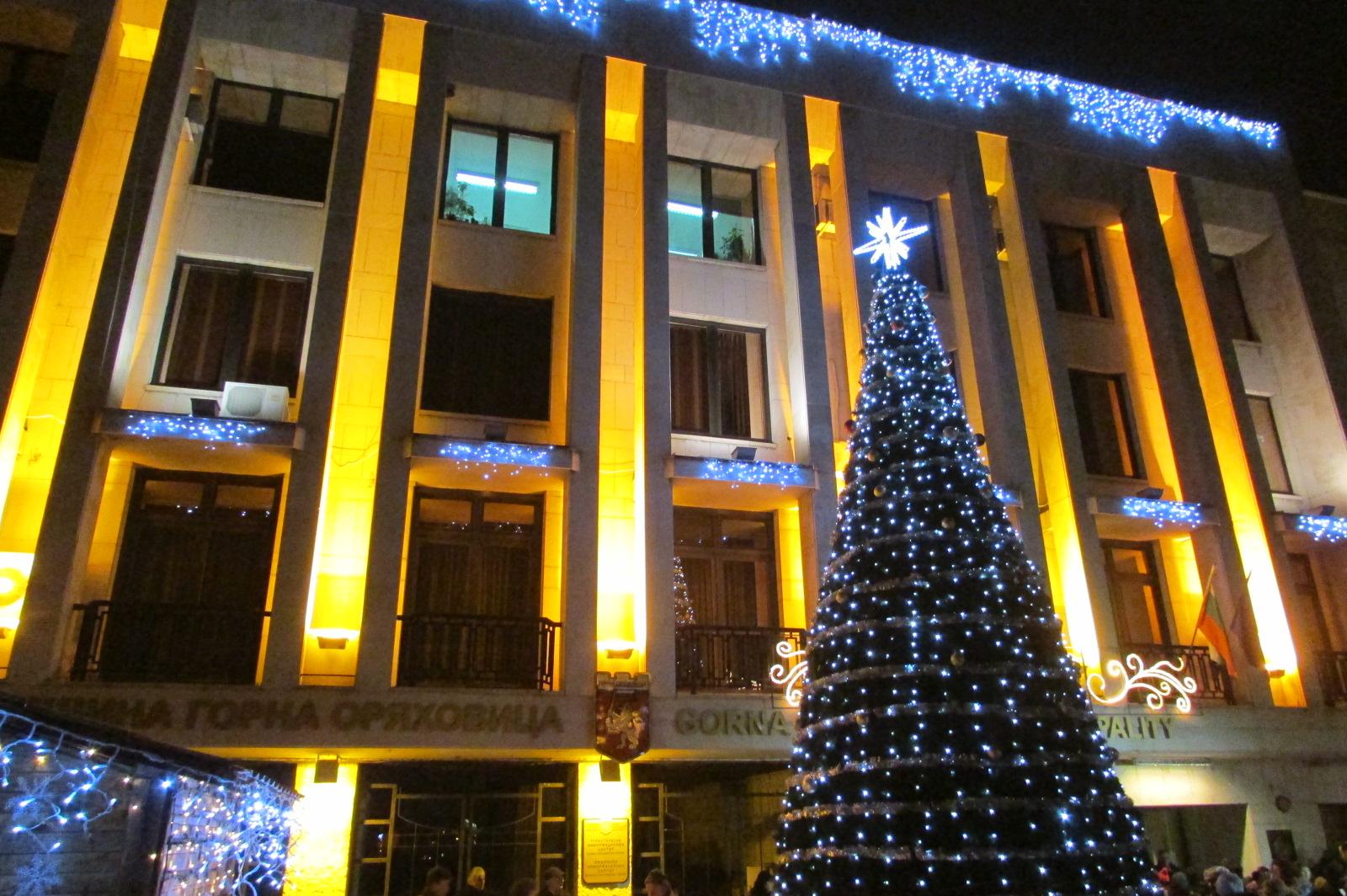 На 4 декември светва Коледната елха в Горна Оряховица