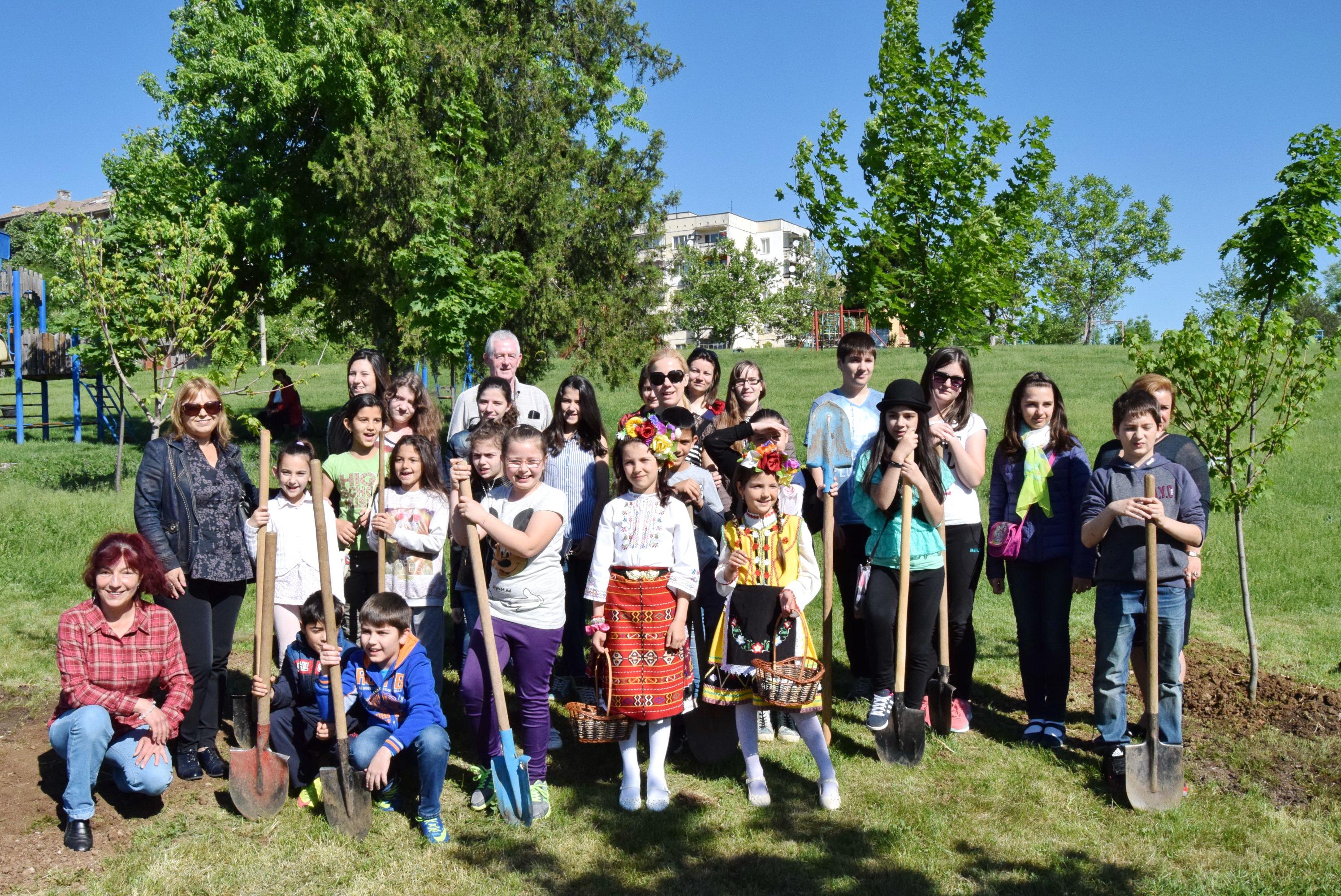 Горнооряховски деца се присъединиха към националната инициатива Гората на Европа