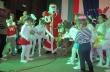 """Артистите от Балет """"Грация"""" посрещнаха Дядо Коледа и елена Сами"""