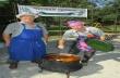 Малки и големи се надиграваха в Поликраище и хапнаха вкусна градинарска чорба
