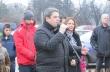Евгения Раданова и инж. Добромир Добрев откриха първата ледена пързалка в Горна Оряховица