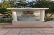 Освещават новоизградената чешма в храм