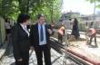 Министър Ивелина Василева инспектира изграждането на канализация по горнооряховски улици