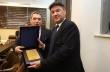 Инж. Добромир Добрев бе удостоен с почетен плакет от Българския футболен съюз