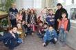 """Второкласници от СУ """"Вичо Грънчаров"""" направиха мартеница 1,5 м за участие в национален конкурс"""