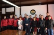 """Инж. Добрев се срещна с хандбалния отбор на ПГЕЕ """"М. В. Ломоносов"""", представил България в Катар"""