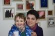 """Майка и син откриха изложба навръх 8 март в ХГ """"Недялко Каранешев"""" в Горна Оряховица"""