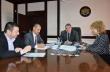 Кметът инж. Добромир Добрев проведе работна среща с управителите на Енерго-про Варна
